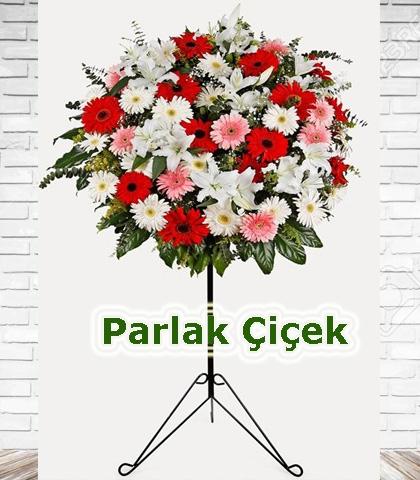 Ferforje Arajman Çiçek Renkli Gerbera
