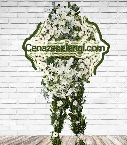 Cenaze Çelengi Kar Beyaz