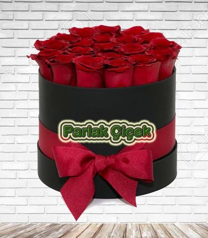 Harika Kutu Gül Söz Nişan Çiçeği 1