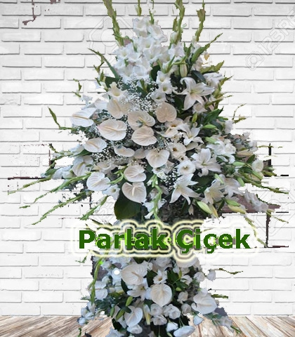 Ferforje Arajman Çiçek Beyaz Rüya
