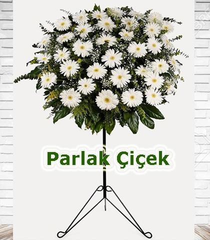 Ferforje Arajman Çiçek Beyaz Gerbera