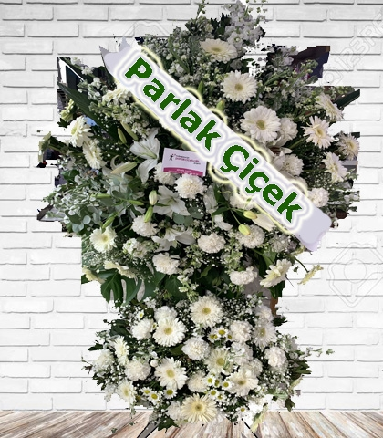 Ferforje Arajman Çiçek Beyaz Efsane