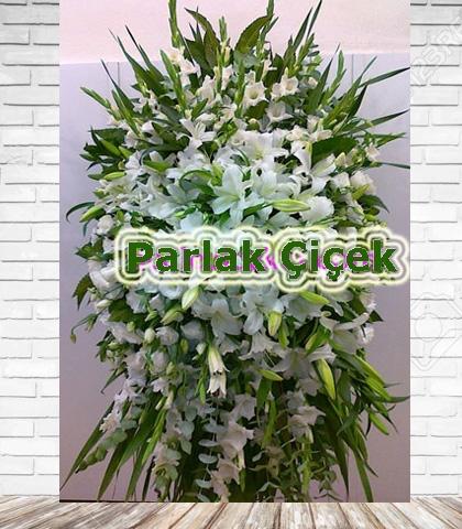 Ferforje Arajman Çiçek Beyaz Lüx